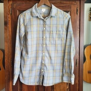 J. Crew Plaid Flannel The Perfect Shirt Size S
